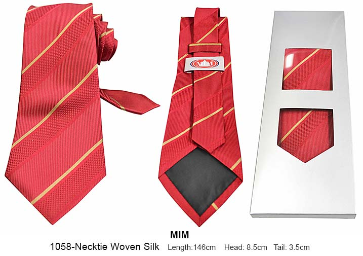 MIM Silk Woven Necktie