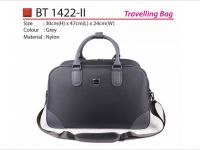 <p>Travelling Bag Model: BT 1422-ii Size: 30(H) x 47(L) x 24(W)cm Material: Nylon Available Colour: Grey</p>