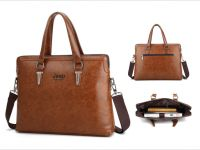 PU Leather Document Bag