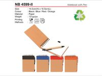Recyclable Notebook with Pen NB4599ii