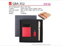 Gift Set with Powerbank, USB Drive & Pen – GBA352