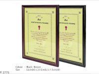 A4 Certificate Frame PF2775
