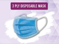 <p>Disposable 3-Ply Face Mask 3-Ply Melt-Blown Filter Face Mask 1st layer: Polypropylene anti-stick non-woven fabric to block droplets etc 2nd layer: Melt-blown fabric to filter non-oily particles […]</p>