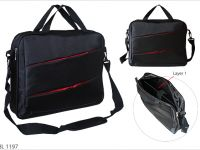 <p>Laptop Document Bag Model: BL 1197 Size: 12″(H) x 15″(W) x 3″(D)inch Material: Jacquard Nylon + 1680D</p>