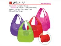 80a421302d75 Foldable Non-Woven Bag WB2158. By Premium Gift ...