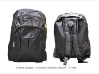 <p>Daily Backpack Model: 8189 rex Size: 30(L) x 42(H) x 13(W)cm Material: Splash Proof Nylon Colour: Black Bag Daily Use</p>