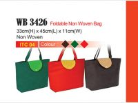 ca7580436491 Foldable Non-Woven Bag WB3426. By Premium Gift ...