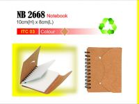 <p>Eco-Notebook Model: NB 2668 Size: 10(H) x 8(W)cm</p>