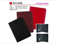 <p>PU Key Folder Model: KH 098 Size: 34(H) x 25.5(L)cm Material: PU Colour: Black / Brown / Red PU Key Book with 15pcs Key Holder New Sleek […]</p>