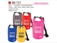 <p>Waterproof Dry Bag (5L) Model: BB 737 Size: 41(H) x 16.5(Diameter)cm Capacity: 5 Liter Material: Waterproof 2 Layer PVC Colour: Red / Grey / Yellow / Blue […]</p>