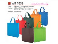 <p>Laminated Non-Woven Bag Model: WB 7633 Size: 34(H) x 29.5(L) x 12(W)cm Colour: Light Blue / Dark Blue / Red / Orange / Brown / Light Green […]</p>