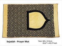 <p>Muslim Prayer Mat Sejadah Online Malaysia, Islamic Prayer Rug & Praying Mats. Size: 68 x 111cm Ready Stocks – Special Offer Sejadah</p>