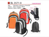 <p>Laptop Backpack Beautiful looking laptop bag with 3 layer compartment & silver lining design. Model: BL 3571-ii Size: 44(H) x 30(L) x 16(W)cm Material: Nylon 1680D Colour: […]</p>