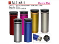 <p>Stainless Steel Thermo Mug Sleek & Elegant looking stainless steel thermos cup, insulated thermo mug to keep drinks warm. Model: M 2168-ii Capacity: 420ml Material: Stainless Steel […]</p>