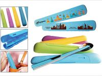 <p>Travel Cutlery Set Model: CT 001 Material: Plastic Size: 20.50 x 4cm Printing Area: 18 x 2cm Colour: Blue / Yellow / Magenta / Green BWCT001 mdpo</p>