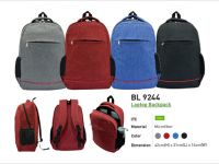 <p>Laptop Backpack Model: BL 9244 Size: 42(H) x 31(L) x 14(W)cm Material: Microfiber Colour: Grey / Red / Blue / Black</p>
