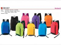 <p>Carry-On Convenient Backpack Model: BB 007 Size: 40(H) x 23(L) x 12(W)cm Material: Nylon Colour: Blue / Black / Green / Pink / Yellow / Purple / […]</p>