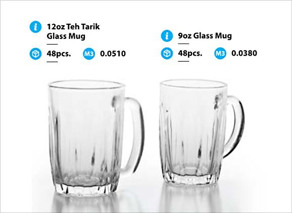 Teh Tarik Mamak Glass Mug - Toppoint