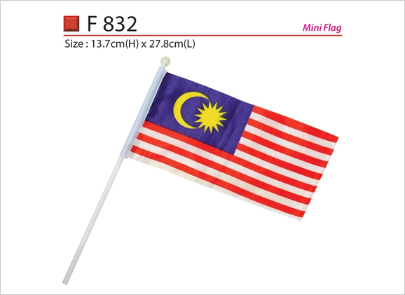 Malaysia Hand Flag F376
