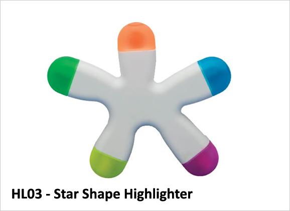 Star Shape Highlighter HL03