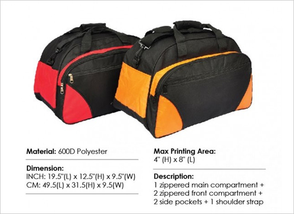 Polyester Travel Bag TLB036