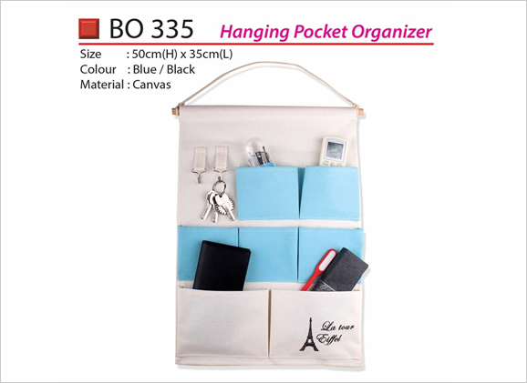 Hanging Pocket Organizer BO335