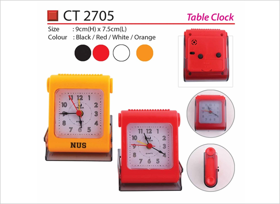 Table Clock CT2705