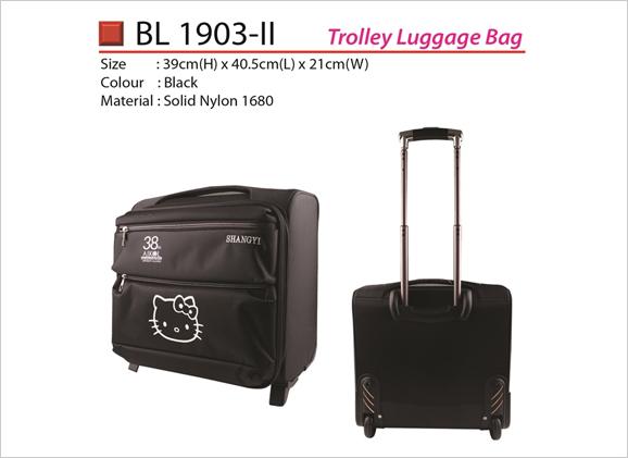 Trolley Luggage Bag BL1903ii Hello Kitty