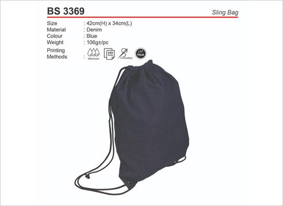 Denim Sling Bag BS3369