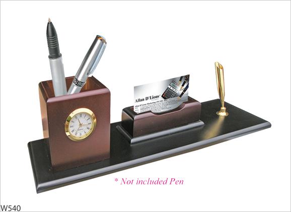 wooden desktop gift set