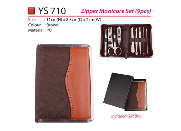 Zipper Manicure Set 9pcs YS710