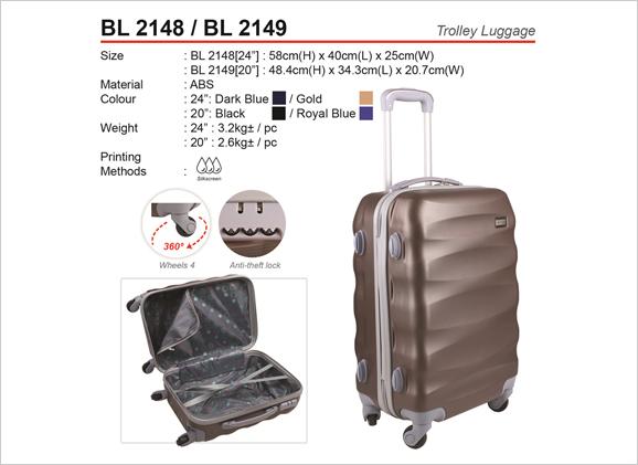 ABS Trolley Luggage Bag BL2148 / BL2149