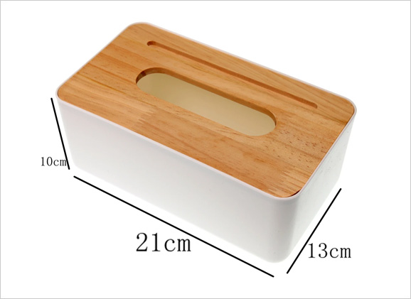 Wooden Tissue Box with Phone Holder Rgzo r200 r020print