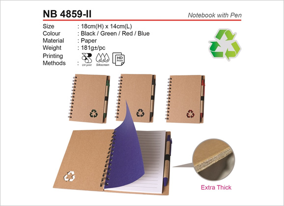 Notebook with Pen NB4859ii