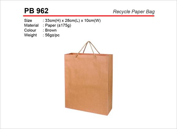 Recycle Paper Bag PB962