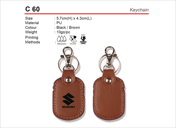 PU Keychain C60