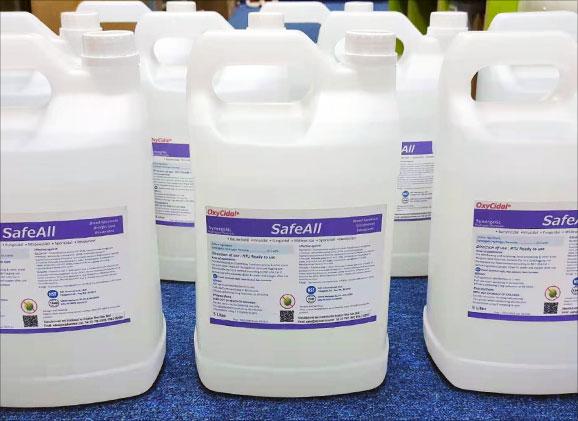 OxyCidal Disinfectant RTU - SafeAll 5 Litre
