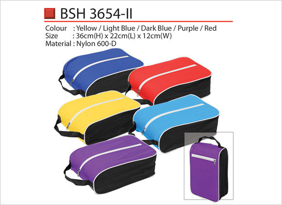 Shoe Bag with Zip and Handle BSH3654ii BSH3654
