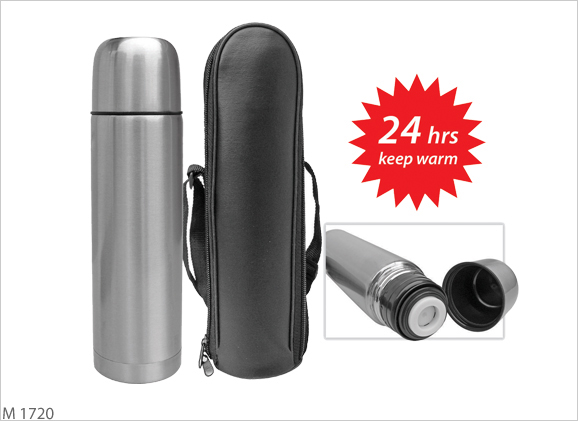 M1720 Thermo Flask with Pouch