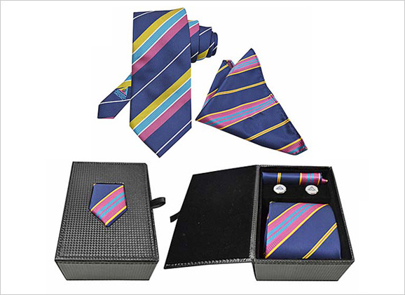 Custom Made Necktie Set SKMM 881059