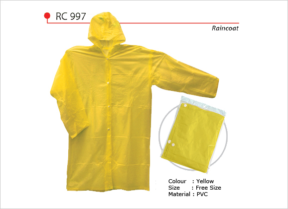 Raincoat - Reusable Rain Coat
