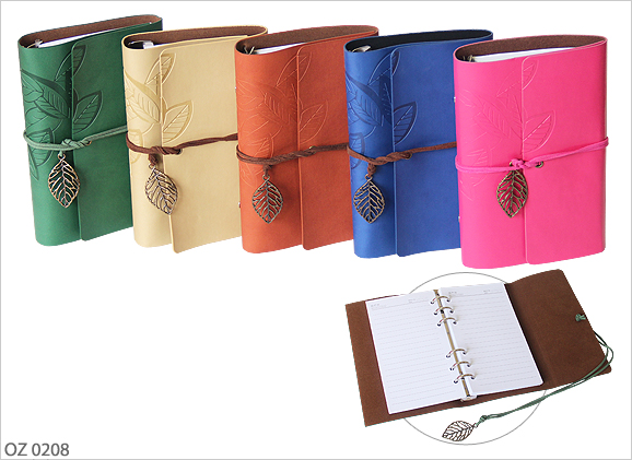 Colour PU Leather Organizer OZ0208