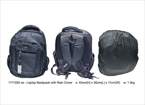FG Laptop Backpack with Rain Cover