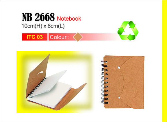 Eco-Notebook NB2668