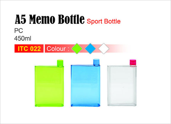A5 Memo Bottle (450ml)