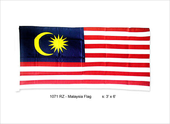 Malaysia Flag Standard Size Outdoor Flag