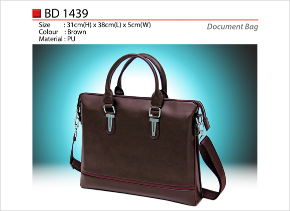 PU Leather Document Bag BD1439