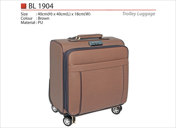 PU Trolley Luggage Bag BL1904