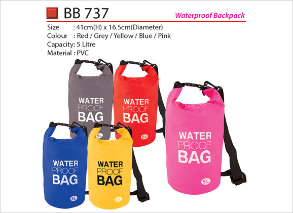 Waterproof Sling Backpack Bag BB737