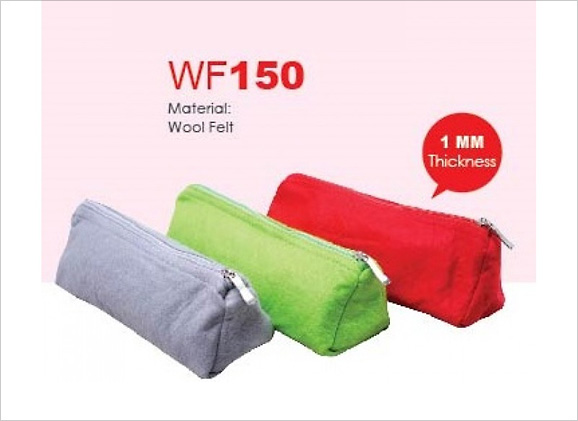 Wool Felt Pencil Pouch WF150